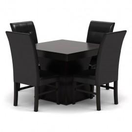 Antecomedor Veneto 4 sillas estilo contemporáneo