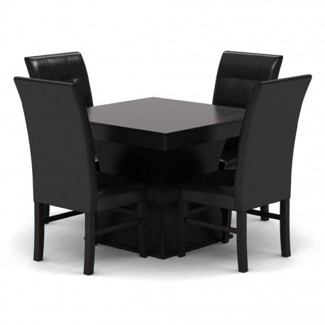 Antecomedor Veneto 4 sillas estilo contemporáneo - Envío Gratuito