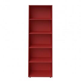 Librero Multiusos Bertolini Multy Rojo