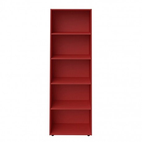 Librero Multiusos Bertolini Multy Rojo - Envío Gratuito